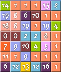 Jogo Enigma das Frações